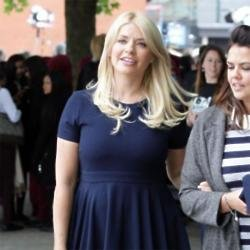 Holly's skater dress is perfect for pregnant ladies