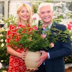 Holly Willoughby and Phillip Schofield unveil the This Morning rose