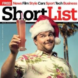 Jack Black on ShortList cover