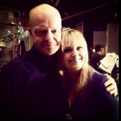 Jake Wood's Twitter picture with Jo Joyner
