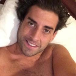 James 'Arg' Argent selfie from rehab (c) Instragram