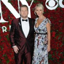 James Corden and wife Julia at the Tony Awards