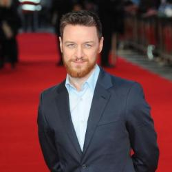 James McAvoy at the Trance premiere