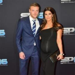 Jamie and Rebekah Vardy