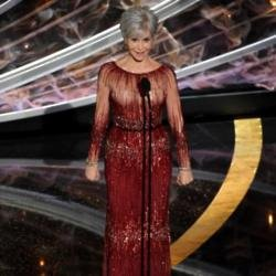 Jane Fonda at the Oscars