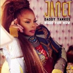 Janet Jackson and Daddy Yankee's Made For Now artwork