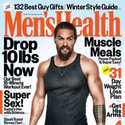 Jason Momoa on the cover of Men's Health