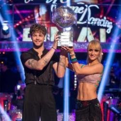 Strictly winners Jay and Aliona
