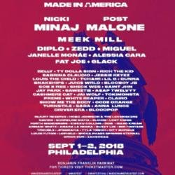Jay-Z Made in America line-up