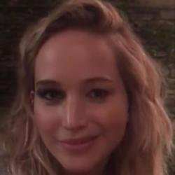 Jennifer Lawrence Facebook video