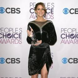 Jennifer Lawrence chose an interesting dress for the People's Choice Awards