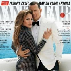 Jennifer Lopez and Alex Rodriguez for Vanity Fair