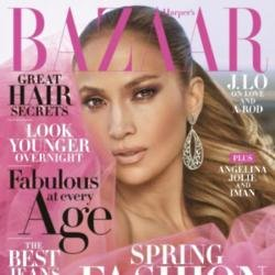 Jennifer Lopez covers Harper's Bazaar 2018
