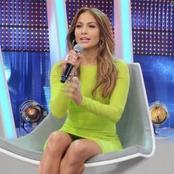 Jennifer Lopez, one of the judges of American Idol