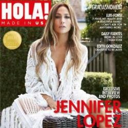 Jennifer Lopez for Hola! USA