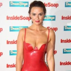 Jennifer Metcalfe at the Inside Soap Awards