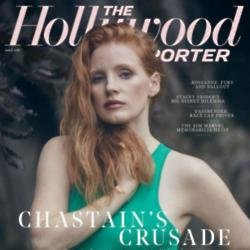 Jessica Chastain in The Hollywood Reporter
