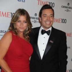 Jimmy Fallon and his wife Nancy