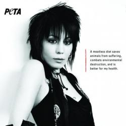 Joan Jett's PETA advert