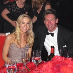 Joanne Froggatt and husband James Cannon