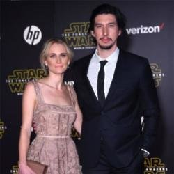 Joanne Tucker with Adam Driver