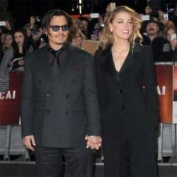 Johnny Depp and Amber Heard in 2015