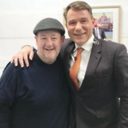 Johnny Vegas and Richard Arnold on Good Morning Britain (c) Twitter