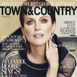 Julianne Moore for Town and Country magazine