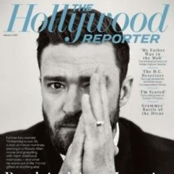 Justin Timberlake in The Hollywood Reporter