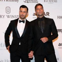 Jwan Yousef and Ricky Martin