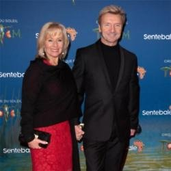 Karen Barber and Christopher Dean at TOTEM premiere