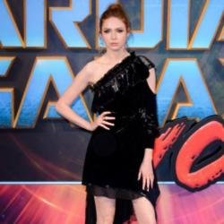 Karen Gillan at the Guardians of the Galaxy Vol. 2 premiere