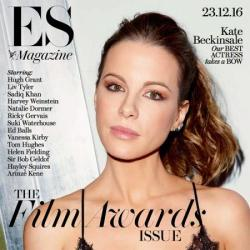 Kate Beckinsale on the cover of ES magazine