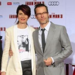 Kate Mestitz and Guy Pearce