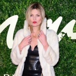Kate Moss usually favours glamorous looks
