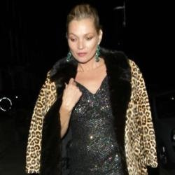 Kate Moss at the GQ after-party