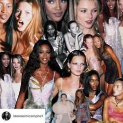 Kate Moss (c) Naomi Campbell's Instagram