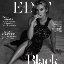 Kate Winslet on The Edit cover