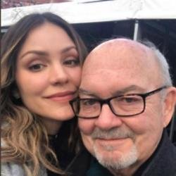 Katharine McPhee and her father (c) Instagram