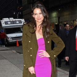 Katie Holmes is the first ever celebrity face of beauty brand Bobbi Brown