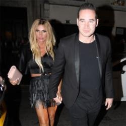 Katie Price and Kieran Hayler arriving at DSTRKT