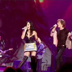 Katy Perry and Sir Mick Jagger in Las Vegas