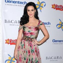 Katy Perry channels the floral trend