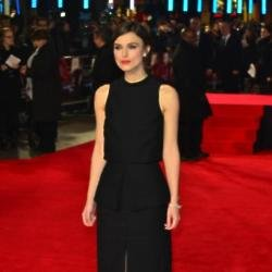 Keira Knightley at the 'Jack Ryan: Shadow Recruit' premiere in London