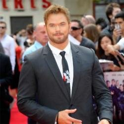 Kellan Lutz at The Expendables 3 premiere in central London