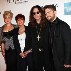Kelly, Sharon, Ozzy and Jack Osbourne
