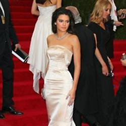 Kendall Jenner in Topshop at the Met Gala