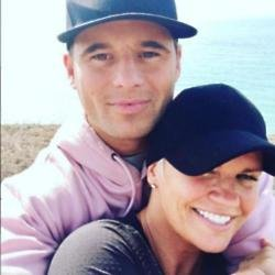 Kerry Katona and James English (c) Instagram