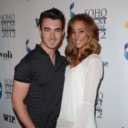 Kevin Jonas and Danielle