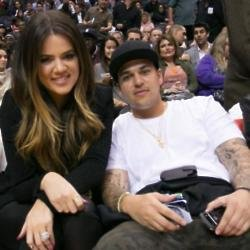 Khloe Kardashian and Rob Kardashian, in 2013